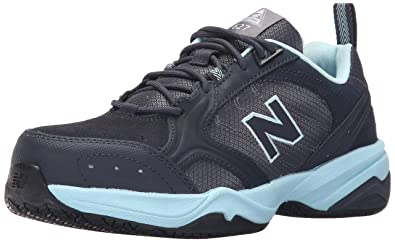 hot-selling latest exquisite craftsmanship save up to 80% New Balance Women's WID627V1 Work Shoe-W, Dark Grey/Freshwater 6.5 D US