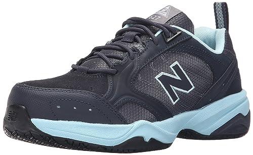 New Balance de Las Mujeres wid627 V1 Puntera de Acero Zapato de Trabajo de formación: Amazon.es: Zapatos y complementos