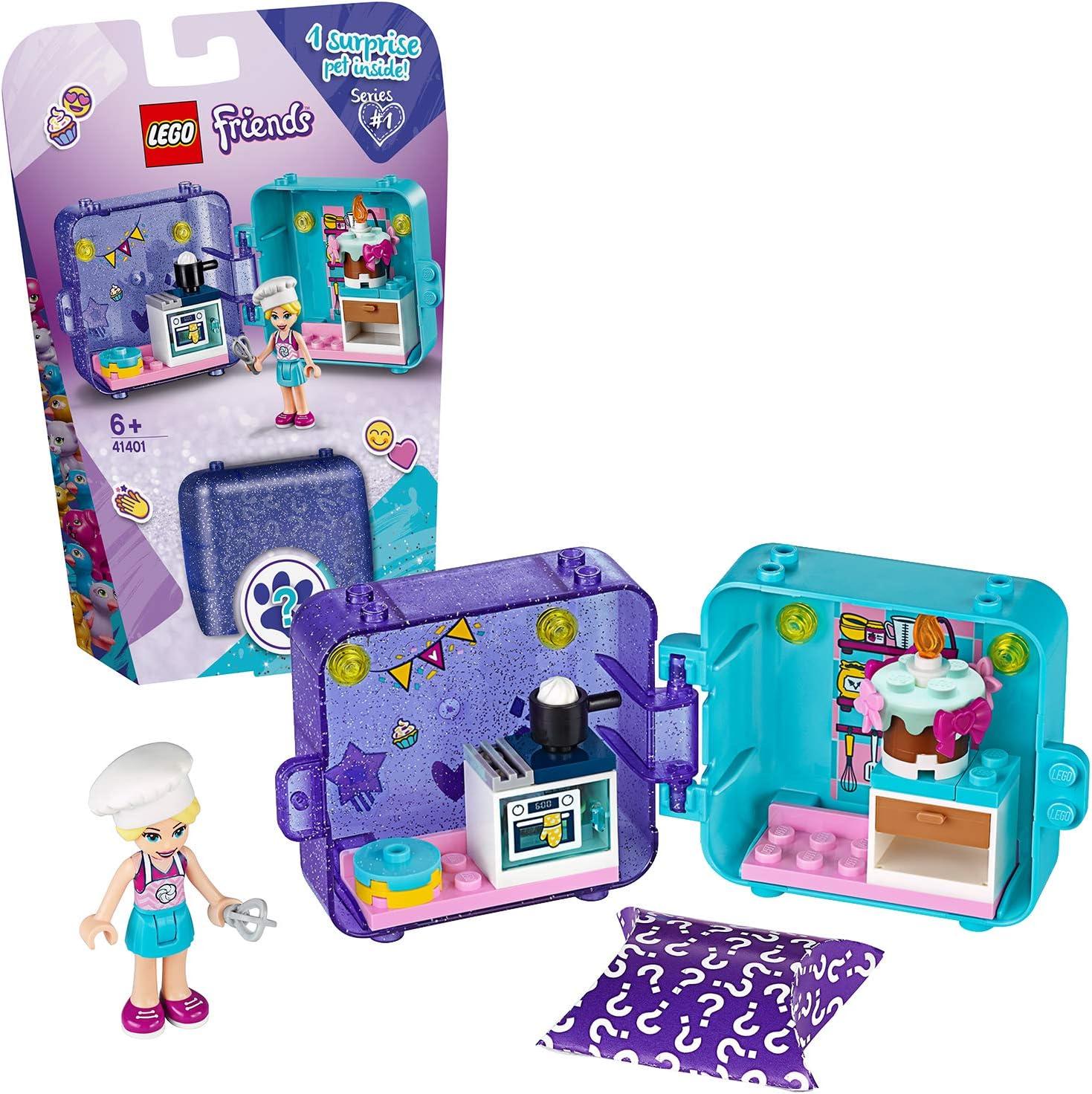 LEGO Friends - Cubo de Juegos de Stephanie, Caja de Juguete con Accesorios y Mini Muñeca de Stephanie, Set Recomendado a Partir de 6 Años (41401): Amazon.es: Juguetes y juegos