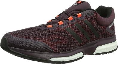 Adidas Response Boost - Zapatillas de Running para Hombre Rojo, Talla 41.5: Amazon.es: Zapatos y complementos