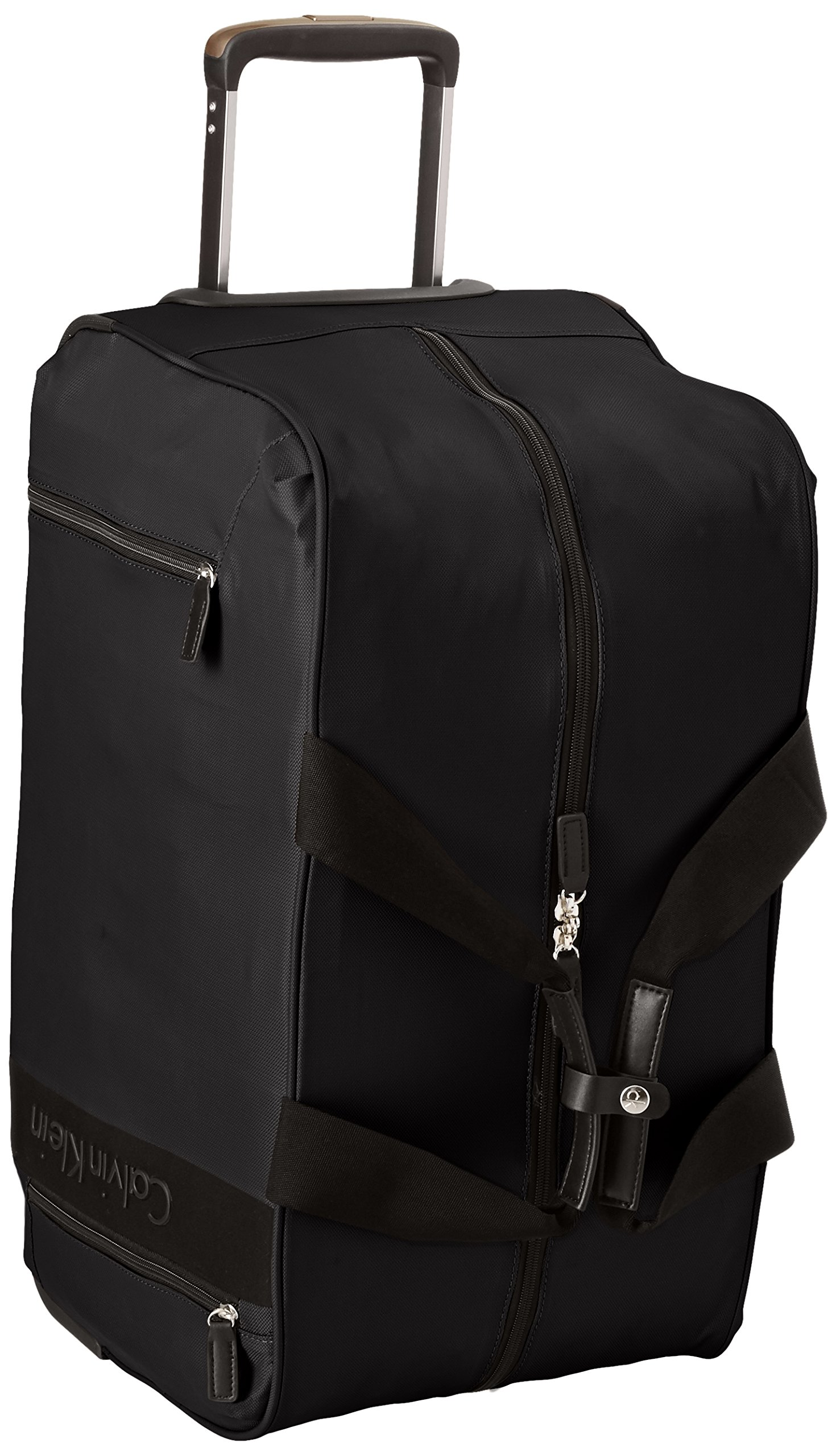 Calvin Klein Northport 2.0 Wheeled Duffle, Black, One Size by Calvin Klein