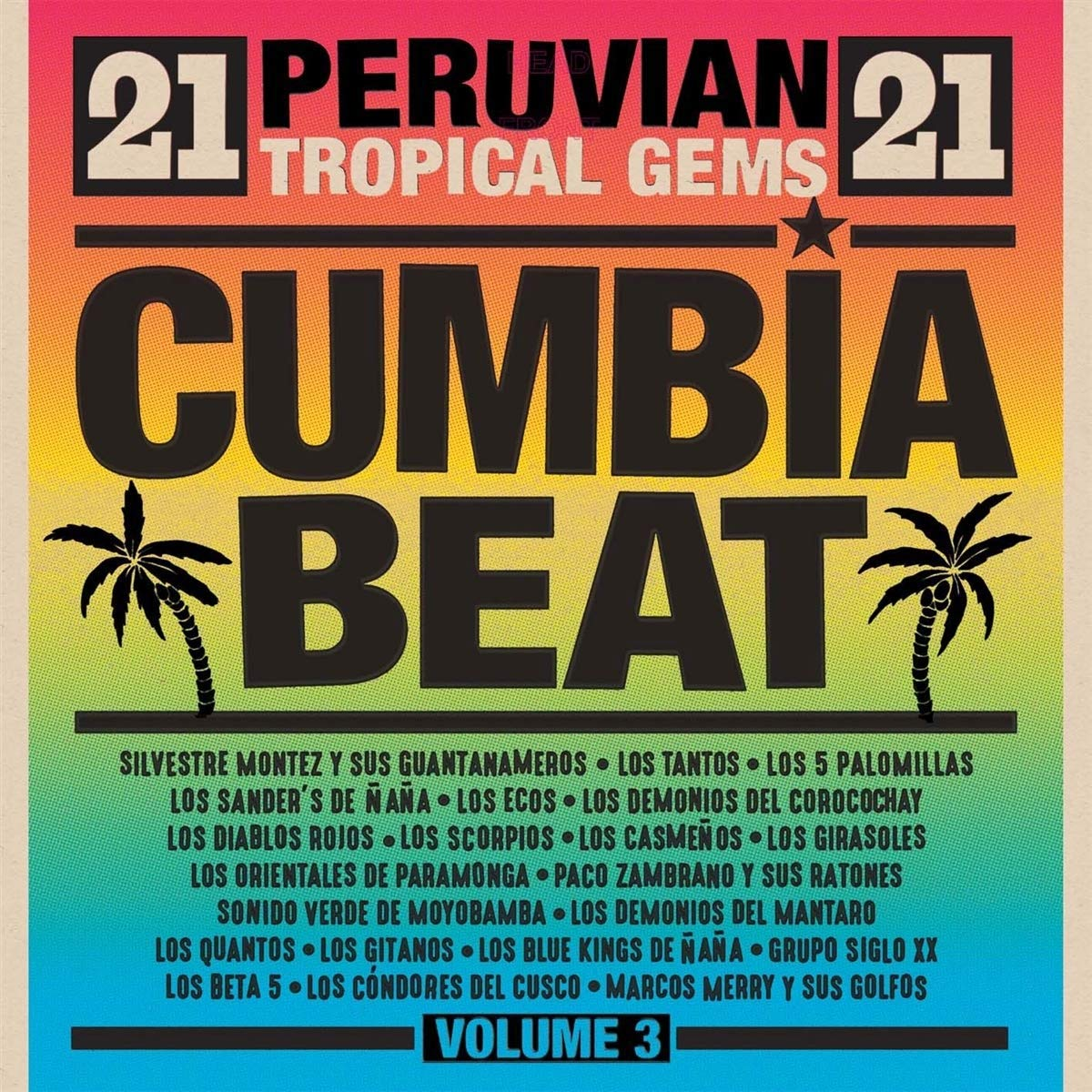 Vinilo : VARIOUS ARTISTS - Cumbia Beat Volume 3: 21 Peruvian Gems (2 Pack)