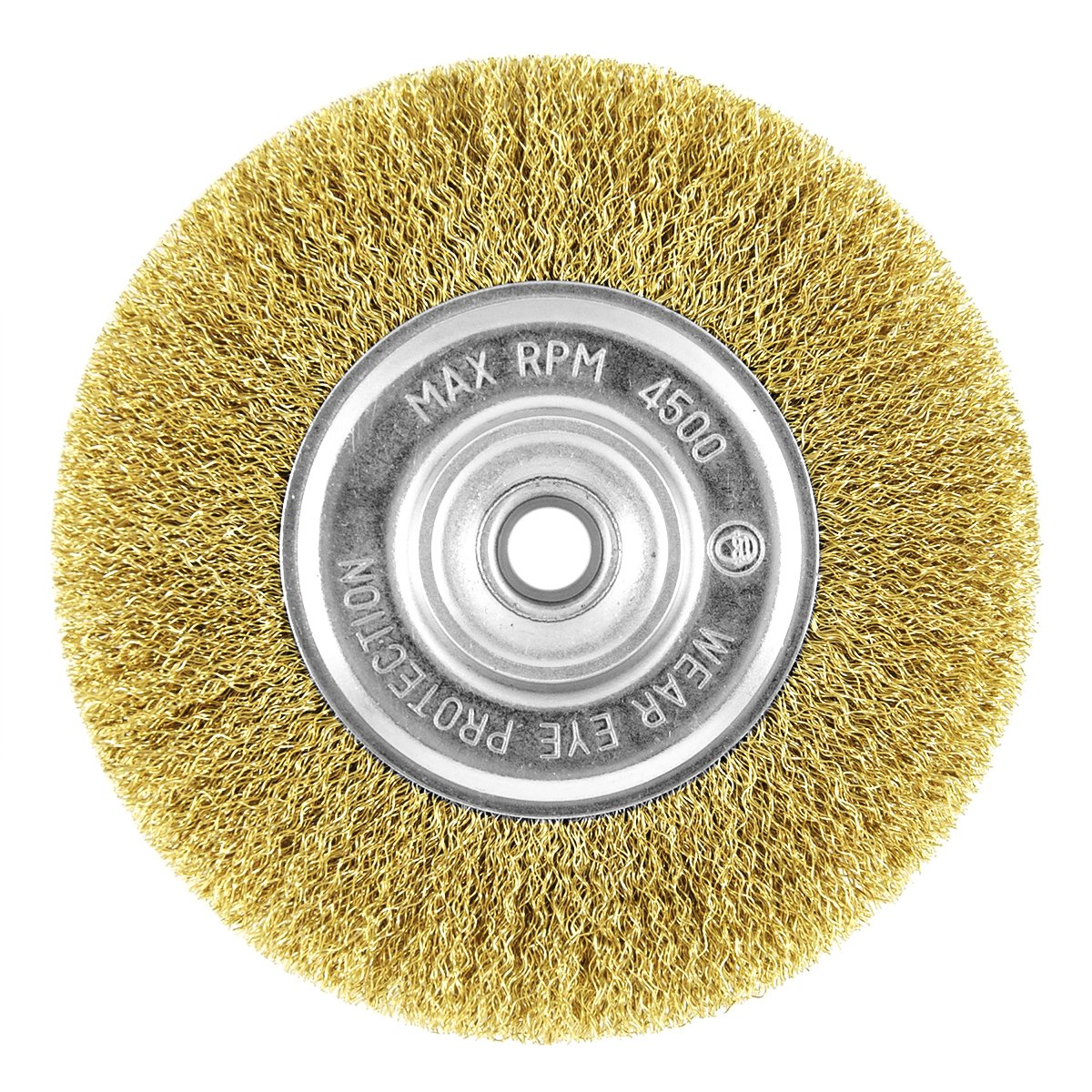 EAB Tool 2160447 6 Brass Coarse Wire Wheel Wire Brush Recyclable