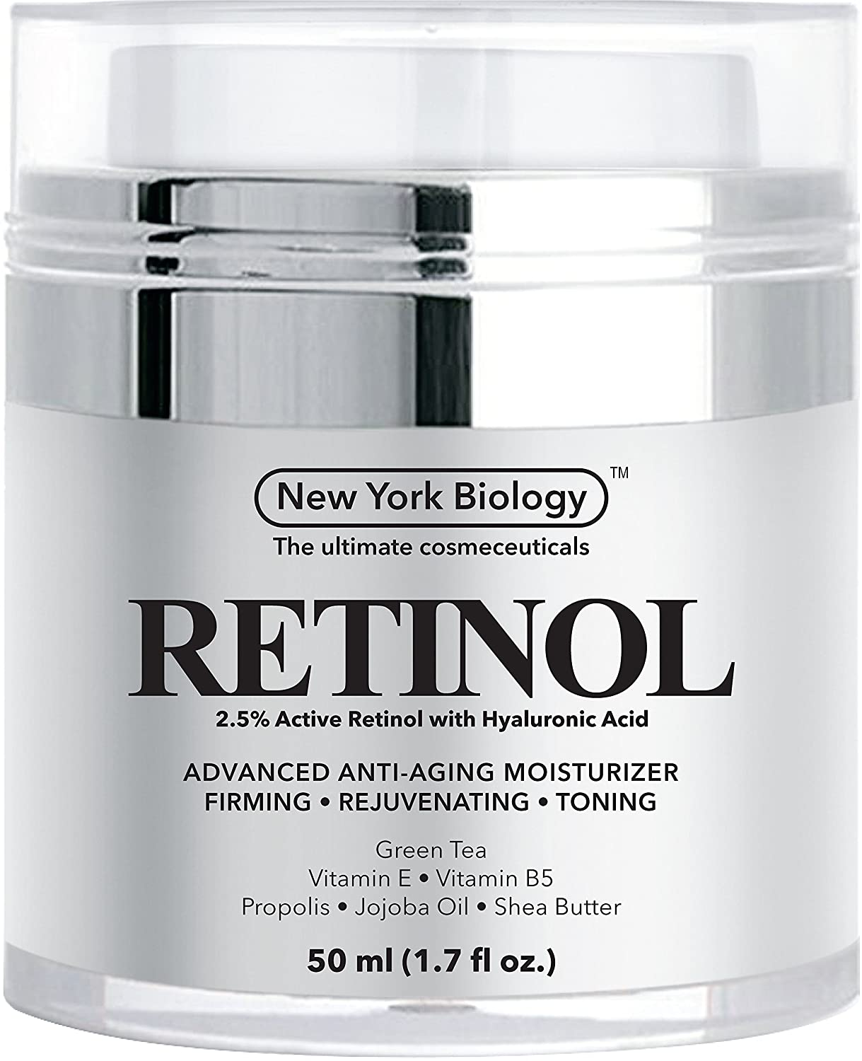 Retinol amounts in moisturizers - Amazon Com Retinol Cream Moisturizer With Hyaluronic Acid Daily Moisturizing Cream Helps Fight Signs Of Aging And Get Rid Of Wrinkles From Face And Eye