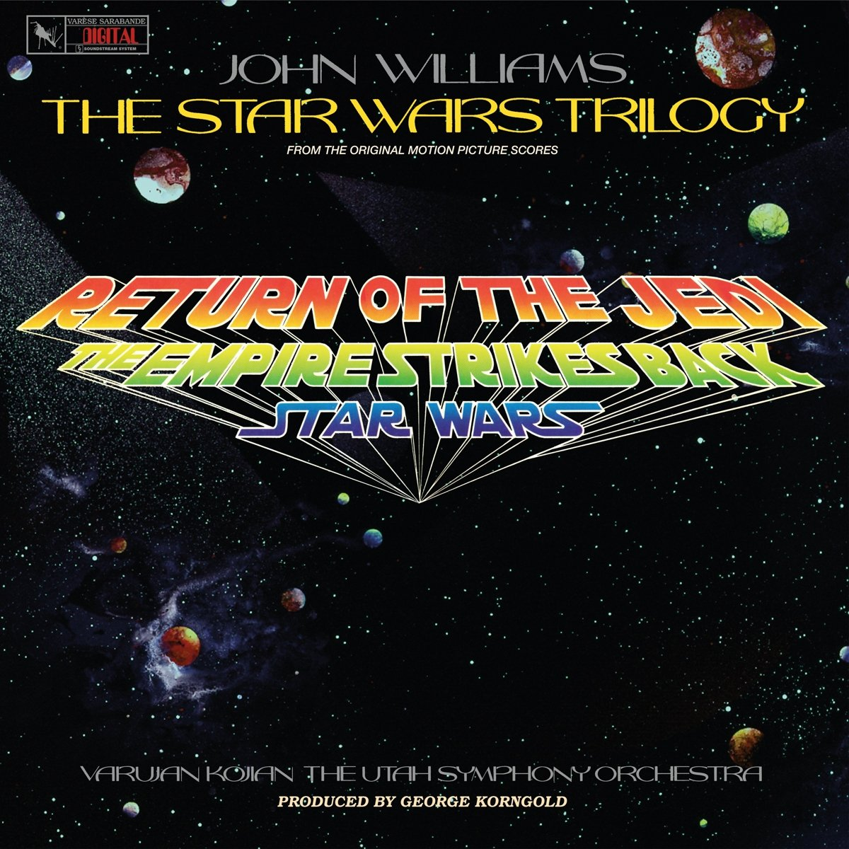 Vinilo : John Williams - Star Wars Trilogy (utah Symphony Orchestra) (original Soundtrack) (LP Vinyl)