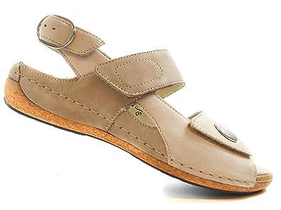 plus bas rabais rechercher le dernier prix compétitif WALDLAUFER Chaussure Femme Pied Large en Cuir (Pointures ...