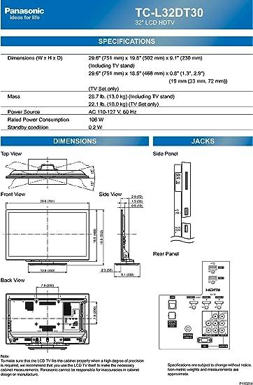 Panasonic TC-L32DT30 LED TV - Televisor (80,01 cm (31.5