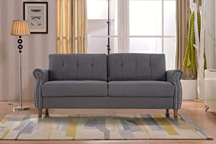 US Pride Furniture S5464-S Sofa, Grey