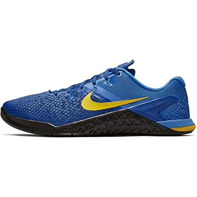 37021c741 Nike Metcon 4 XD Men's Training Shoe Team Royal/Amarillo-LT Photo Blue-