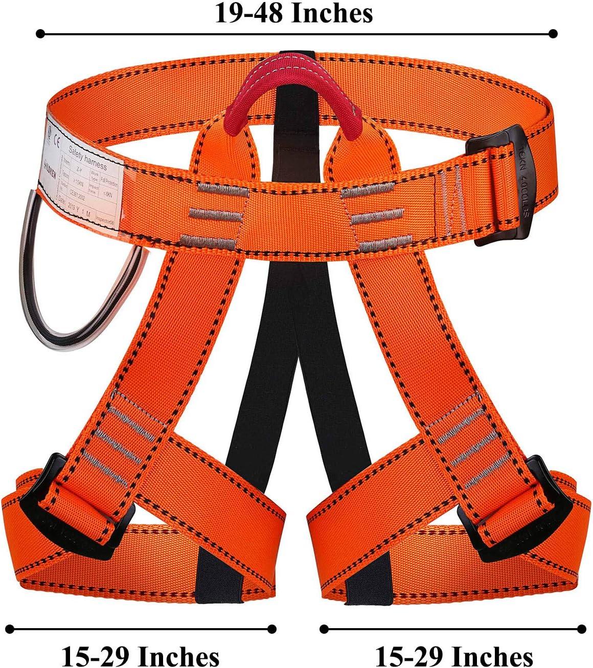 WILDKEN Arnés de Seguridad de Escalada para Hombre Mujer Alpinismo ...