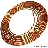 Lawton Copper Rouleau de tube de cuivre microbore 8mm x 10m