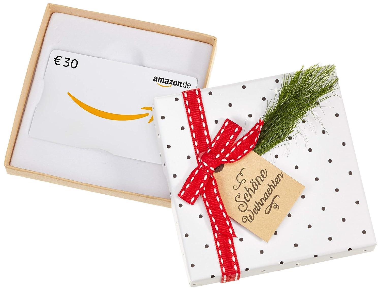 Amazon.de Geschenkkarte in Geschenkbox (Tannenzweig) - mit kostenloser Lieferung per Post Amazon EU S.à.r.l.