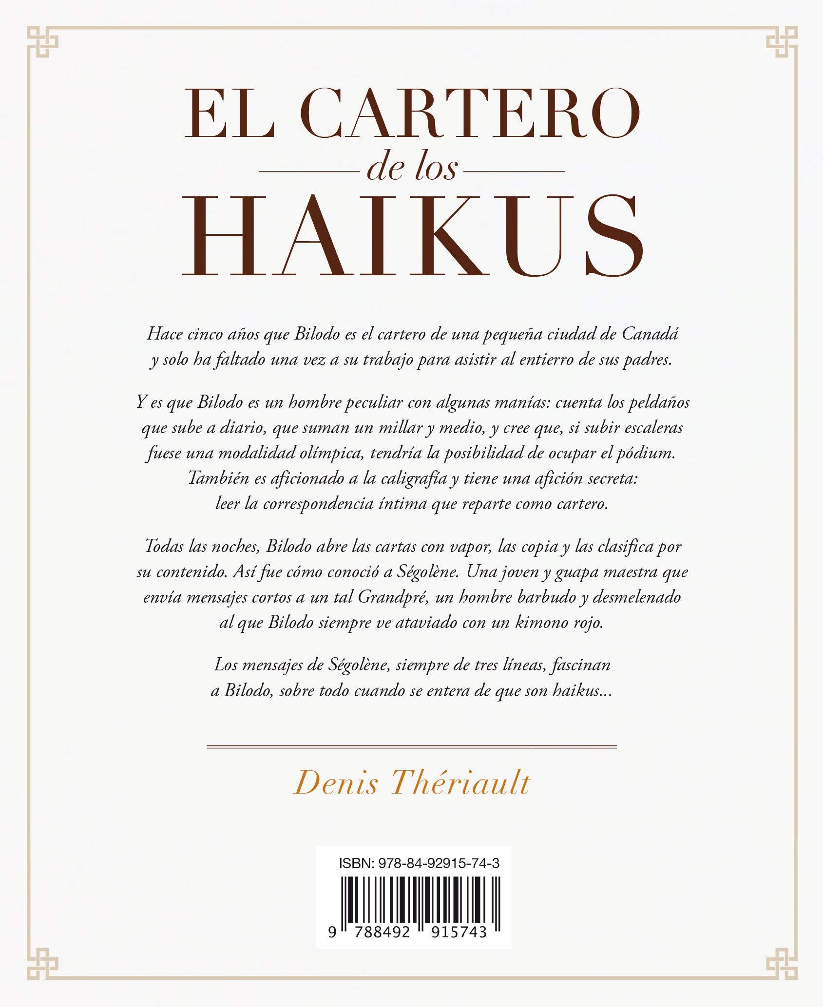 El cartero de los Haikus (Umbriel narrativa): Amazon.es ...