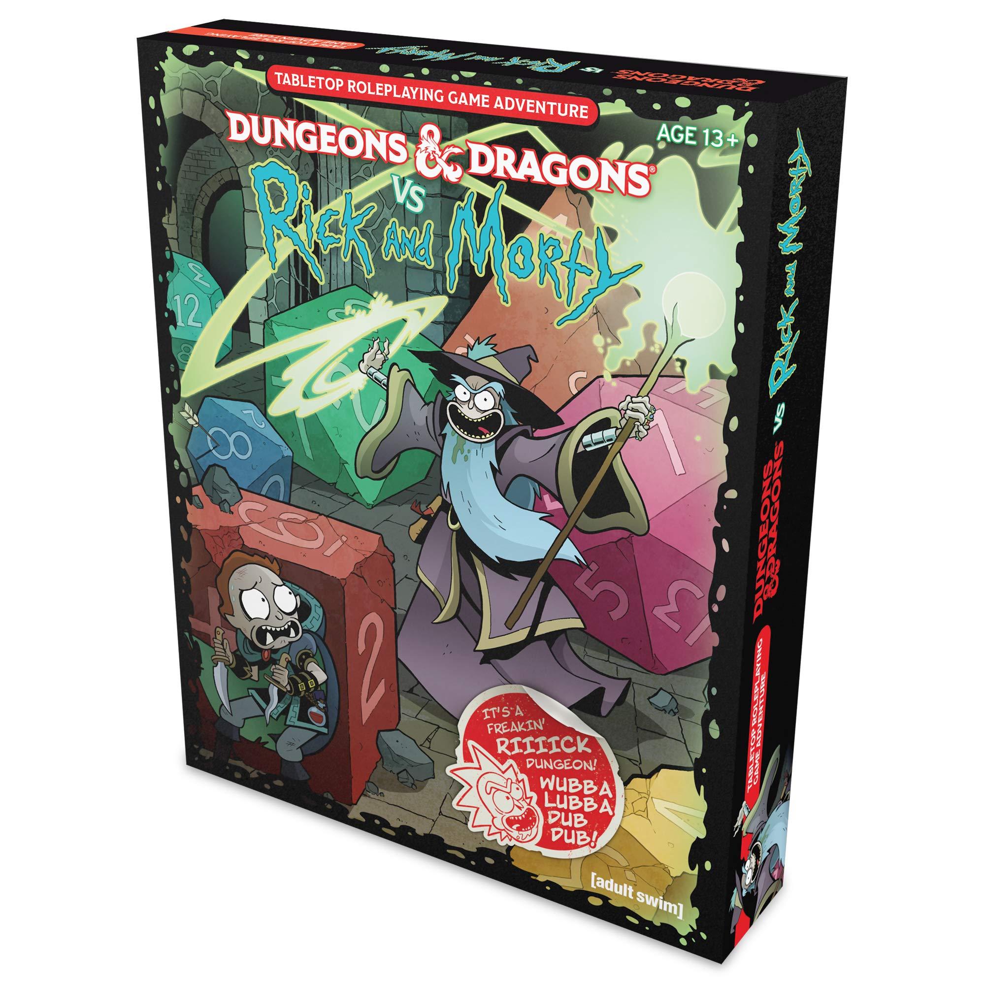 D&D RPG RICK & MORTY TABLETOP RPG: Amazon.es: Wizards Rpg Team ...