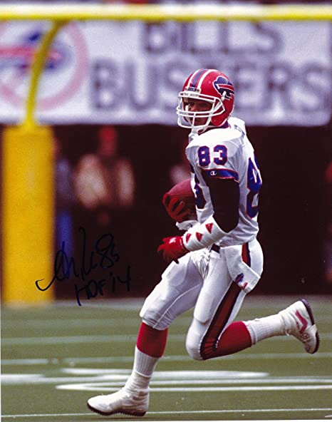 Image Unavailable. Image not available for. Color  Andre Reed Signed ... eb6ef21d9