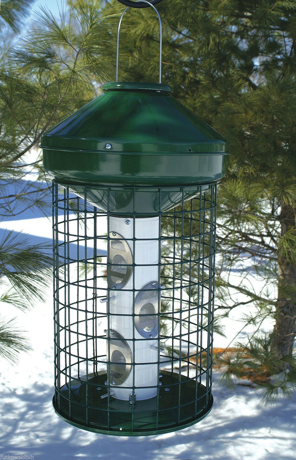 Woodlink Naav1mnp Hd Large Capacity Caged Mixed Seed Bird Feeder by Woodlink