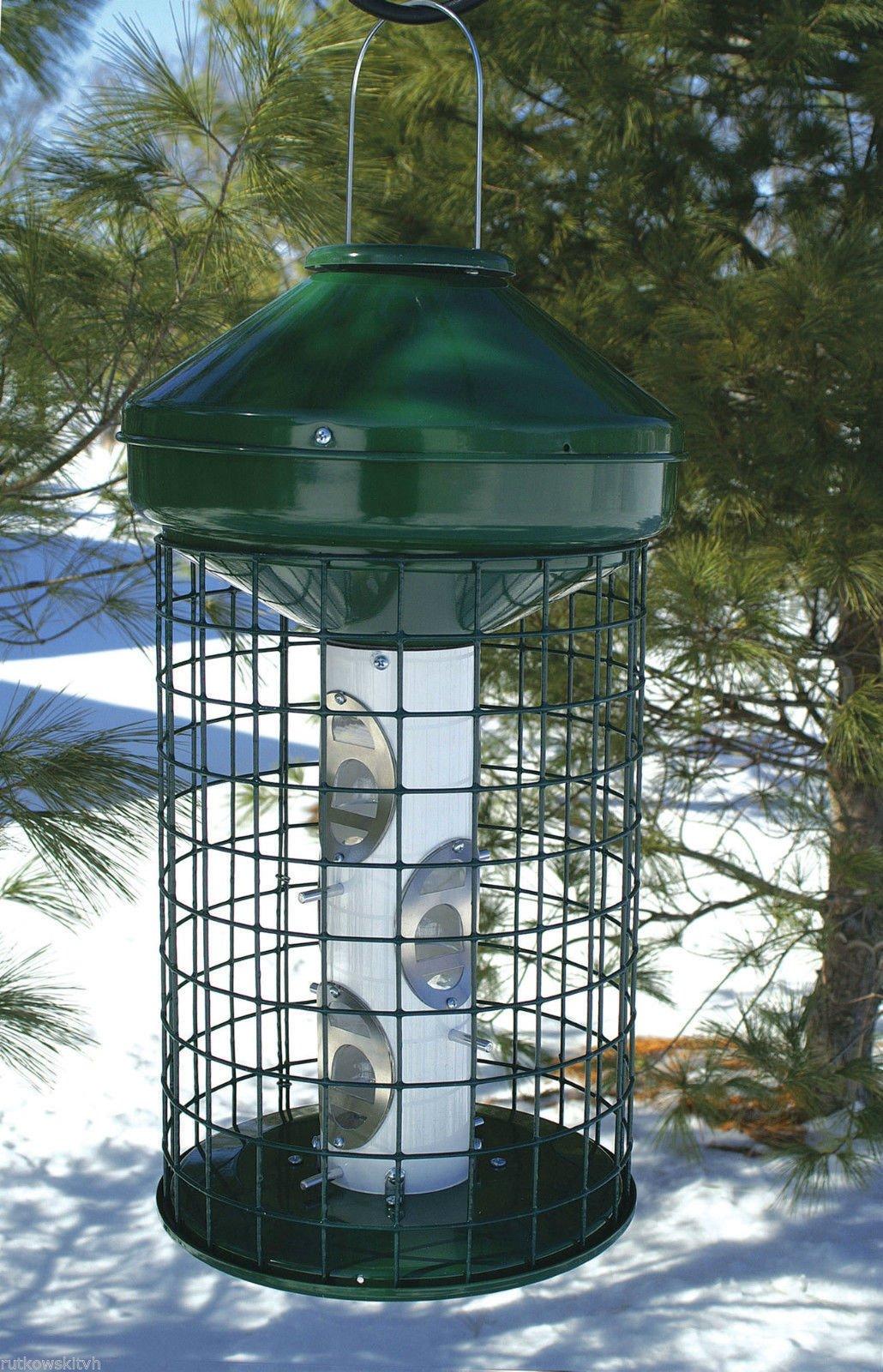 Woodlink Naav1mnp Hd Large Capacity Caged Mixed Seed Bird Feeder