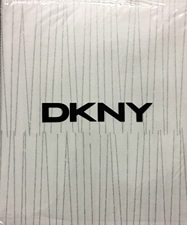 High Quality DKNY Twine Linen Metallic Silver Cotton Fabric Shower Curtain