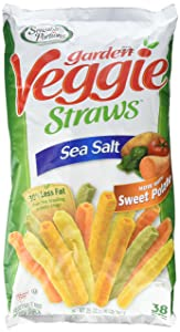 Sensible Portions Garden Veggie Straws Sea Salt 25 Oz. (1.56 Lb.) Bag