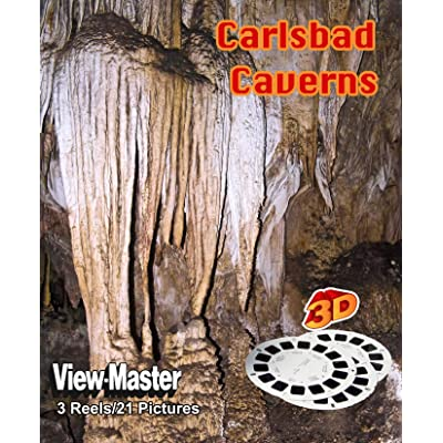 ViewMaster 3D 3- Reel Set - Carlsbad Caverns National Park - Set 1: Toys & Games