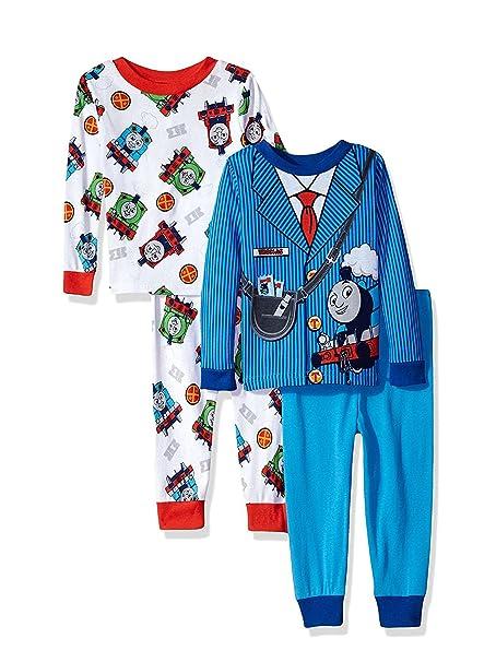 Amazon.com: Thomas el Tren & Friends Boys 4 pieza Pijamas ...
