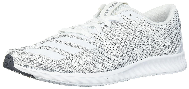 adidas Women's Aerobounce Pr w Running Shoe B072FH2N7M 5 B(M) US|White/White/Core Black