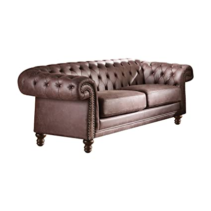 Acme Furniture 52415 Shantoria II Sofa, Brown