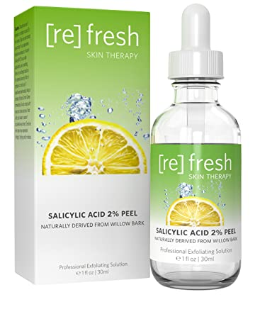 Salicylic Acid Peel 2% for Acne Treatment - Daily Gentle Treatment for Acne  Spots,
