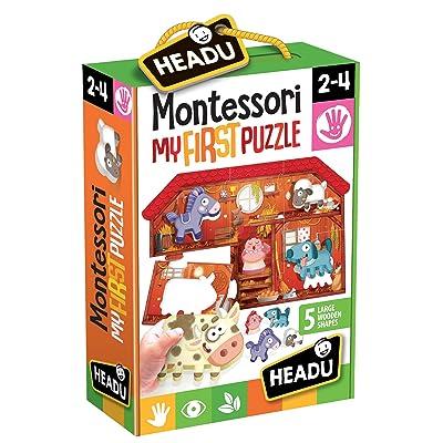 Headu it20140–Montessori First Pieces Game The Farm: Toys & Games