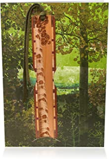 product image for Aspen Tree Engraved Wood Bookmark with Card - A Fun Gift and Card All-in-One