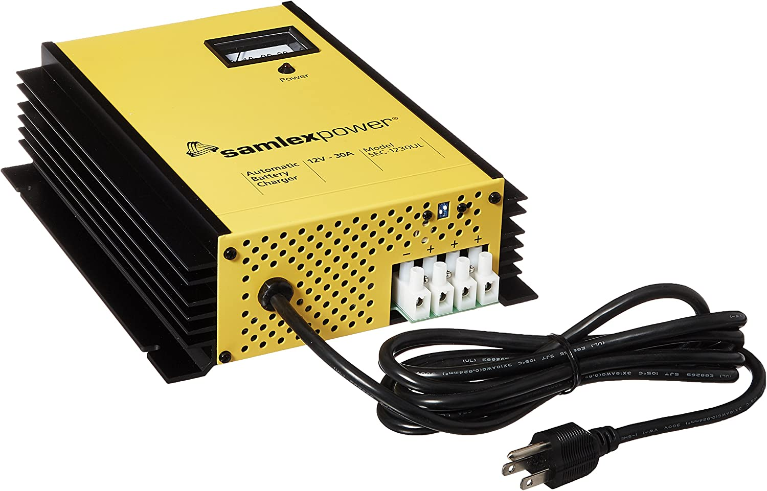 Samlex Solar SEC-1230UL SEC-UL Series 12V Battery Charger