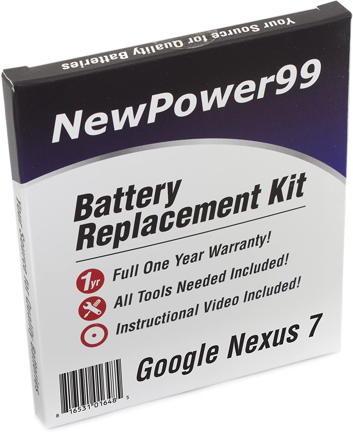 Amazon Com Newpower99 Battery Replacement Kit With Battery Instructions And Tools For Google Nexus 7 Home Audio Theater