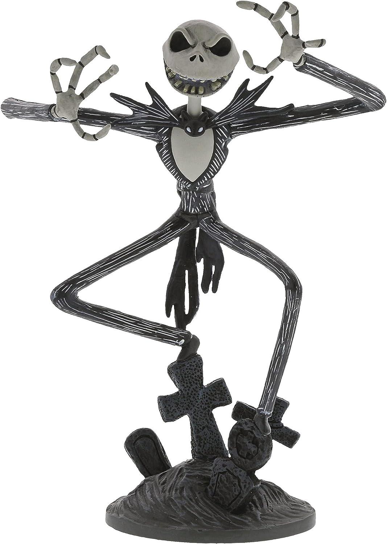 Enesco 4059467 Grand Jester Studios Nightmare Before Christmas Jack Skellington Vinyl Figurine, 8.5 Inch, Multicolor