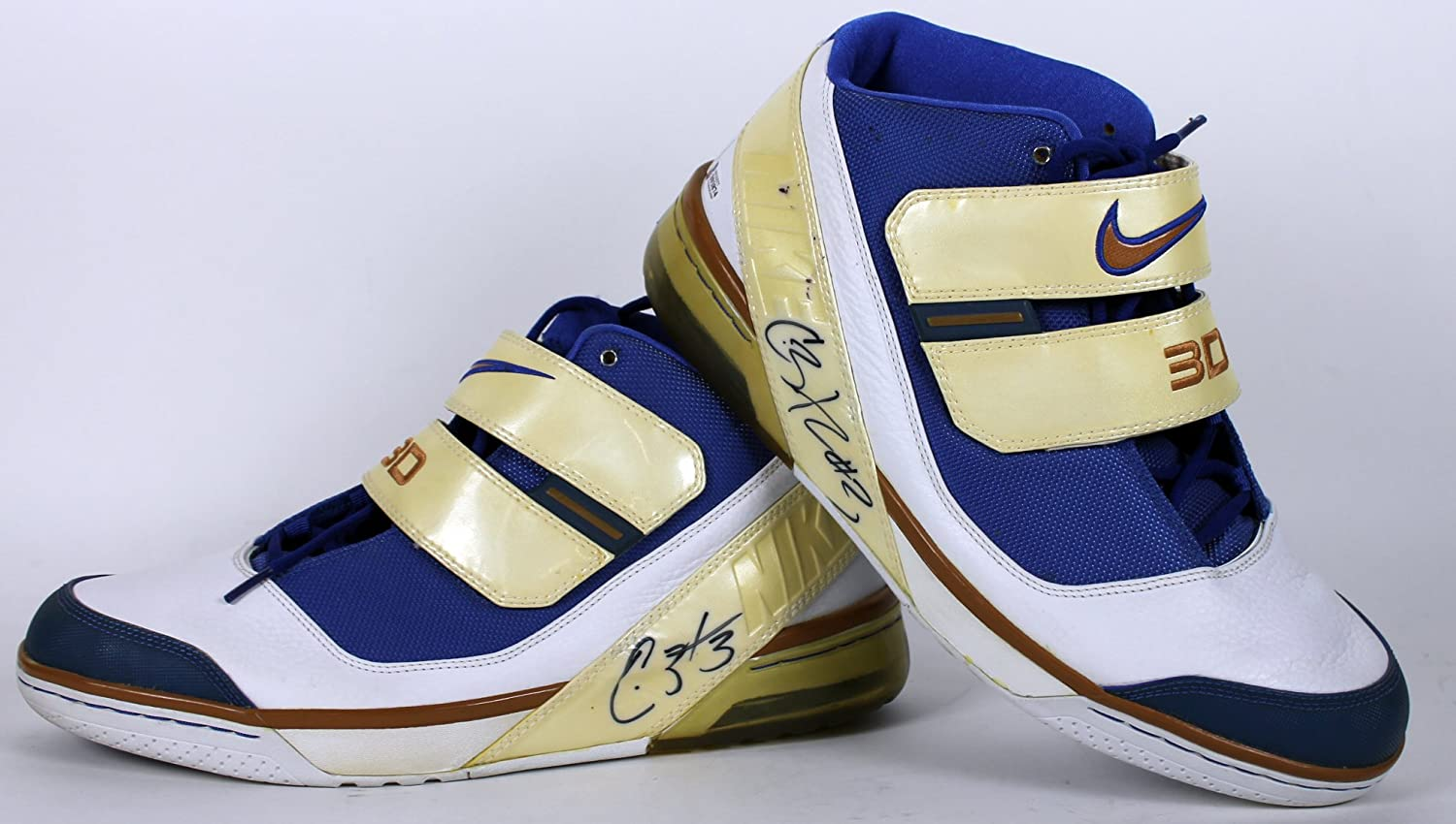 Couleurs variées a1a02 8f0b1 Wizards Caron Butler Authentic Signed Game Used Size 14 Nike ...