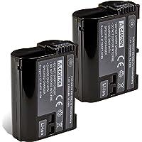 BM Premium Pack Of 2 EN-EL15 Batteries for Nikon 1 V1, D600, D610, D750, D800, D810, D7000, D7100 Digital SLR Camera…
