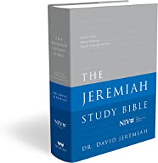 The Jeremiah Study Bible: What It Says. What It Means. What It Means for You. (NIV) Jacketed Hardcover