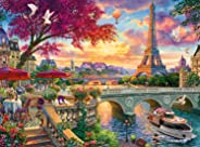 Buffalo Games - Escapes Collection - Vive la Paris - 1000 Piece Jigsaw Puzzle