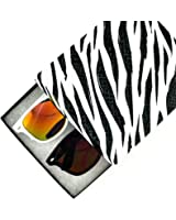 Retro Classic Sunglasses Driving Lens and Color Mirrored Lens Gift Box