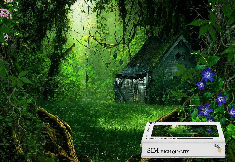 人気の春夏 プレミアムバスウッド - ファンタズマゴリアの森 34.4 X 22.6インチ - - 34.4 X 1500ピースジグソーパズル B07HYGZLV7, パソコンパーツのアプライド:c8616b3c --- sinefi.org.br