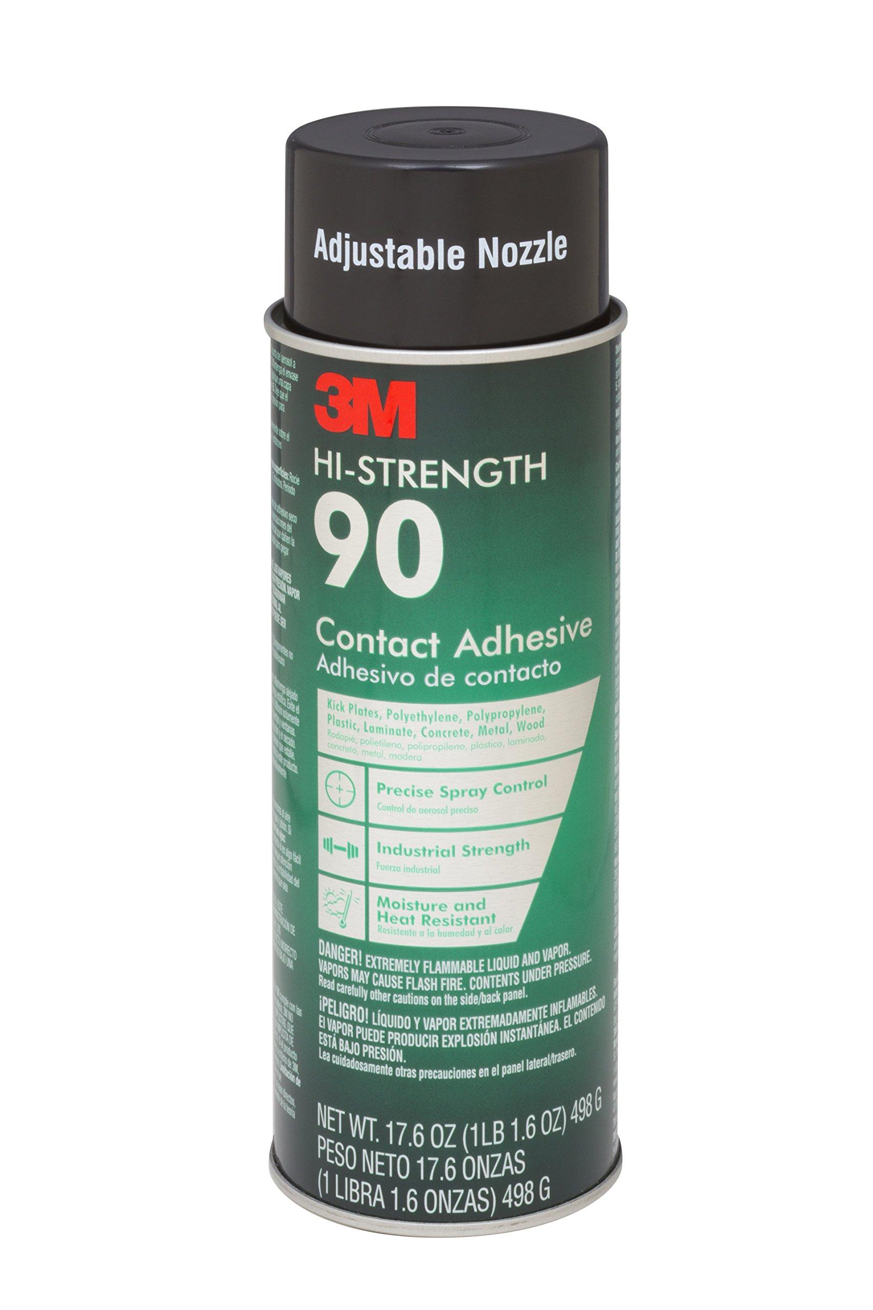 3M 90-24 Spray Adhesive, 17.60 Oz, 12 per Case by 3M