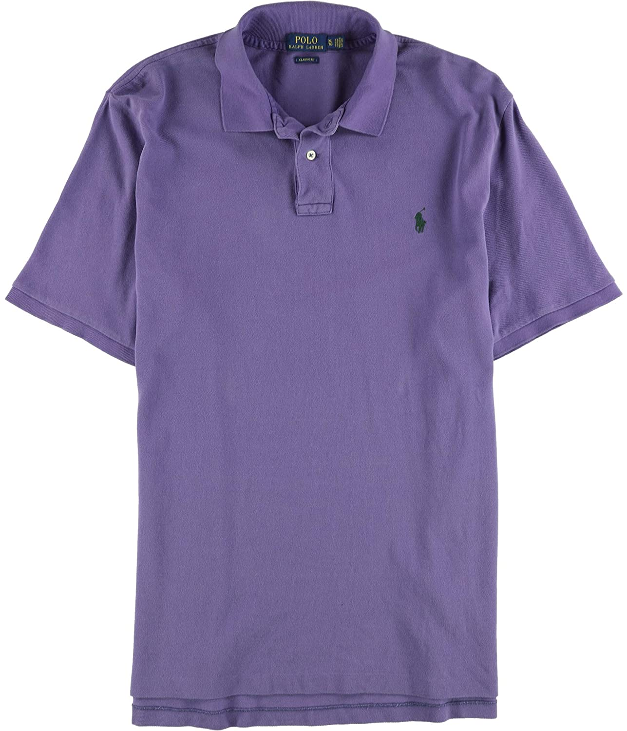 Ralph Lauren Polo Mens Classic Weathered Mesh Polo Shirt Seville