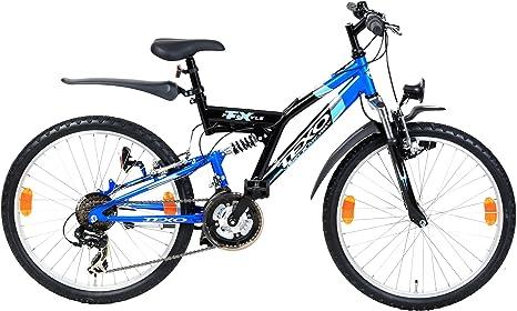 TEXO Atb - Bicicleta infantil MTB para niño, talla XS (147-152 cm ...