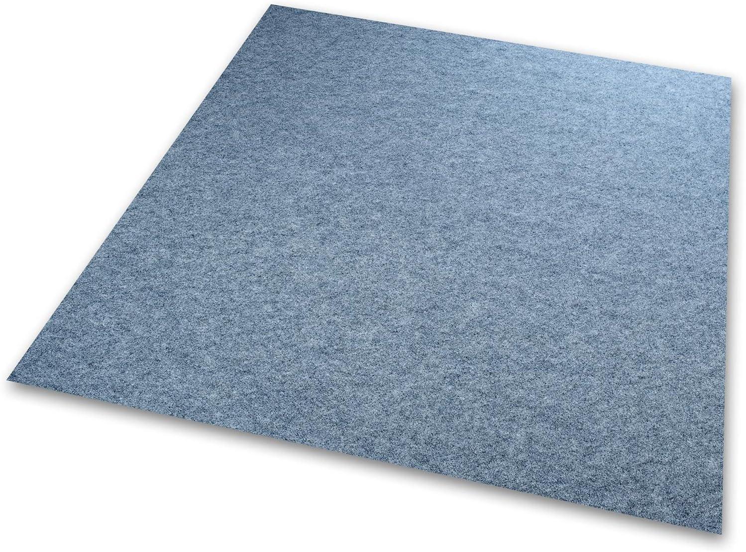 wasserabweisend 100x200 cm, braun Emissions- /& geruchsfrei Floori/® Nadelfilz Teppich GUT-Siegel Viele Farben /& Gr/ö/ßen