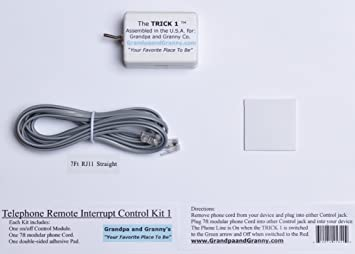 2 line phone telephone splitter wiring diagram amazon com 1 line on off switch for any telephone device  amazon com 1 line on off switch for
