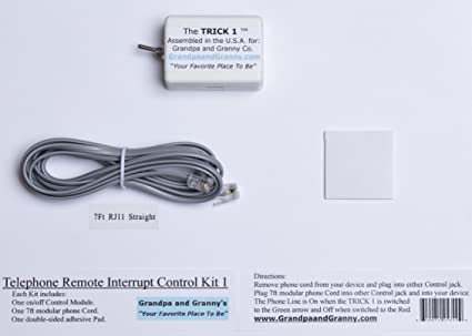 amazon com 1 line on off switch for any telephone device connected rh amazon com