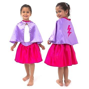 Lucy Locket - Disfraz de Superheroina para niña (3-8 años): Amazon ...