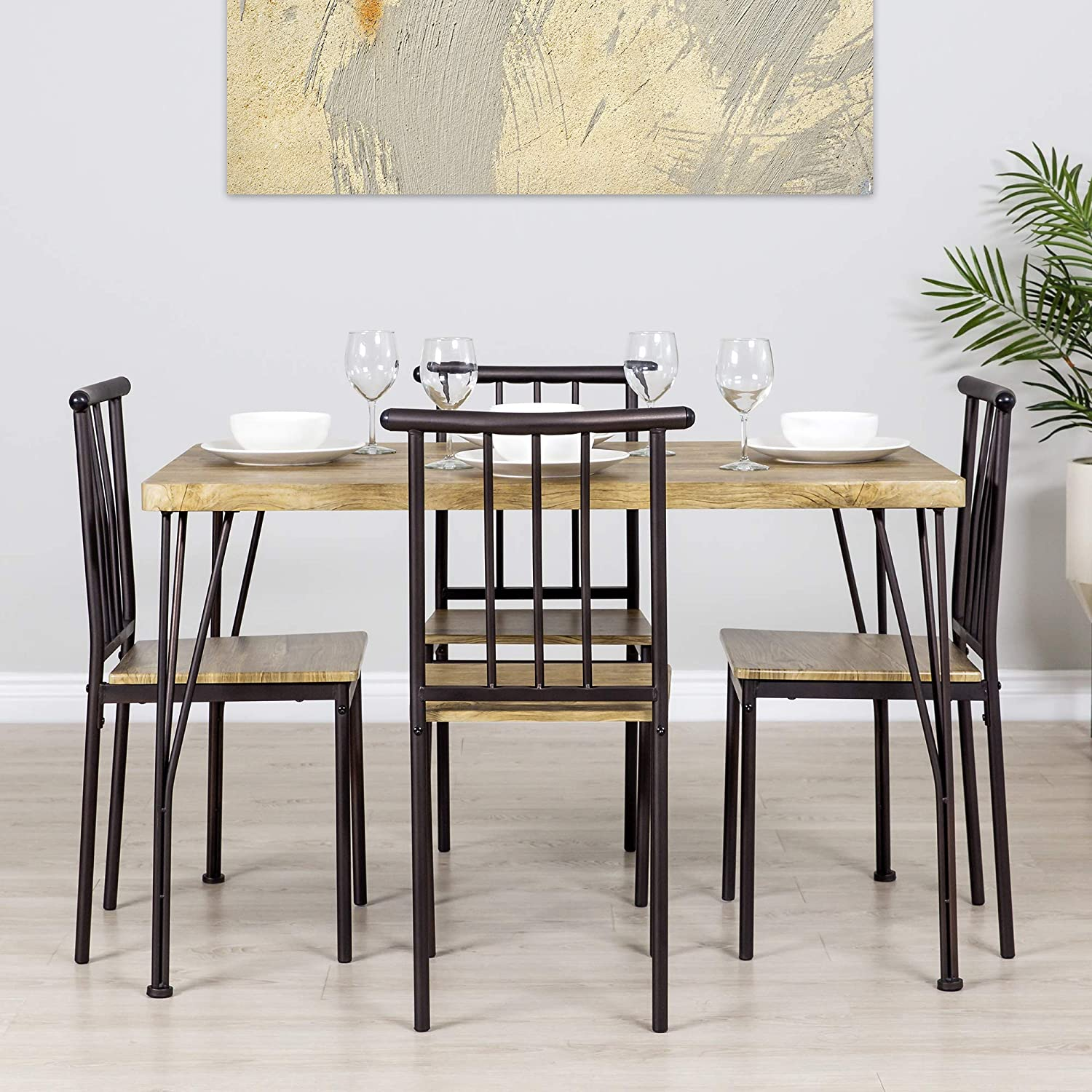 best choice narrow dining table