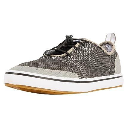 Xtratuf Riptide Mens Airmesh Deck Shoes Black White 22000