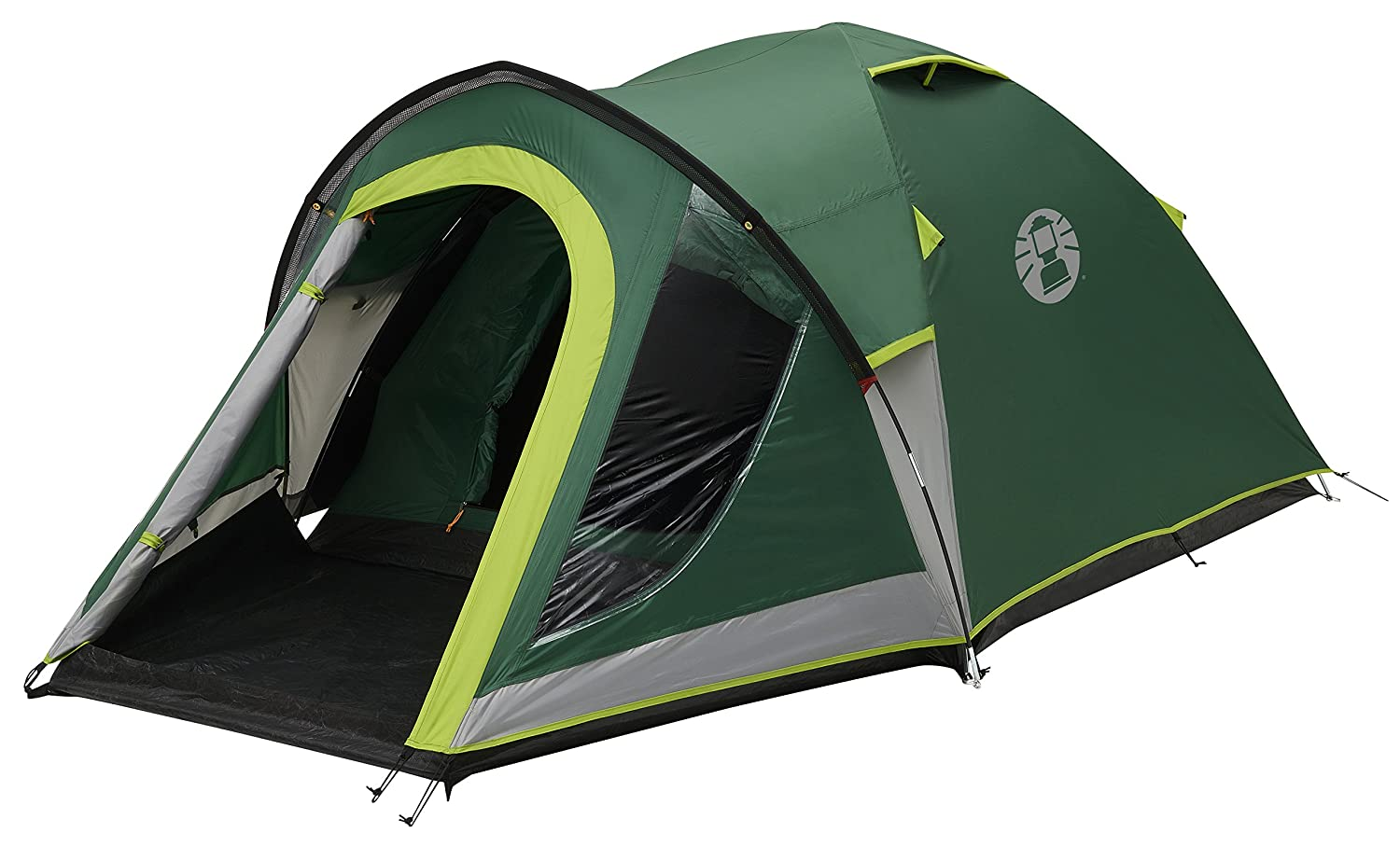 Coleman Tent Kobuk Valley 3/4 Plus3/4 man tent BlackOut Bedroom Technology Festival Essential 1 bedroom Family Dome Tent 100% waterproof C&ing Tent ...  sc 1 st  Amazon UK & Coleman Unisex Kobuk Valley 3+ Camping Tent Green: Amazon.co.uk ...
