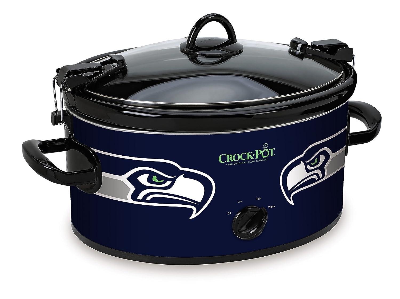 Crock-Pot Seattle Seahawks NFL 6-Quart Cook & Carry Slow Cooker